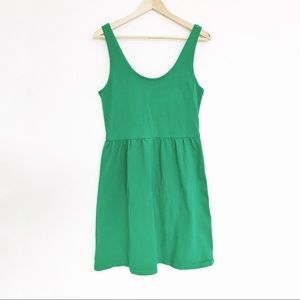 J. Crew Factory Dresses - Green A-line J Crew Dress
